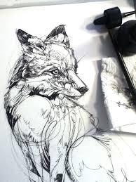 Tetování Liška Kreslená