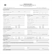 Renters Application Template Proposal Form Template Lovely Free Tenant Application Luxury