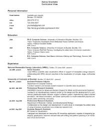 Scientific Resume Free Resume Example And Writing Download