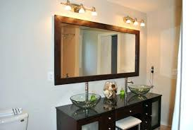 black framed bathroom mirrors. Black Framed Vanity Mirror Bathroom Mirrors Small Oval .