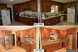 Light Cherry Kitchen Cabinets Hickory Wood Saddle Windham Door