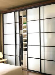 Closet ~ Slide Door Closet Sliding Closet Doors System Pair Of ...