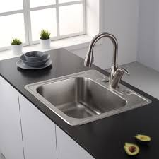Kitchen  Astonishing Square Kitchen Faucet Kitchen Sink Faucets 25 Inch Undermount Kitchen Sink