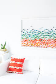 You can make all kinds of things of it: Diy Paper Wall Art