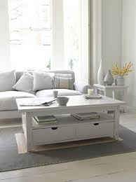 White Wood Coffee Table With Drawers Gorgeous White Coffee Table Great White Loaf
