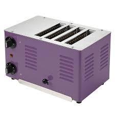 Retro Toasters regent toaster plum designer retro purple 4 slice toaster 6558 by xevi.us