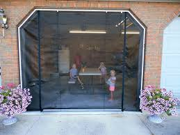 garage door screen systemFrancis ZIPROLL Screen  Outdoor Retractable Garage Screen Photo