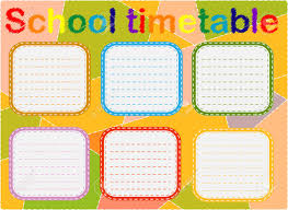 Graphic Design Timetable School Timetable A Weekly Curriculum Design Template Scalable