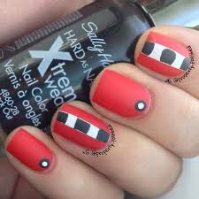 classy design black red. 80 Classy Nail Art Designs For Short Nails Design Black Red M