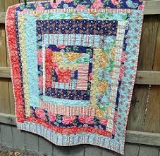13 Easy Rustic Log Cabin Quilts and Squares - Seams And Scissors & Country Cabin Lap Quilt Adamdwight.com