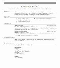 Resume Accounting Clerk Accounting Clerk Resumes Resume Objective