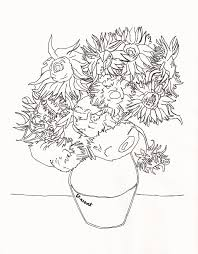 Small Picture Luxury Van Gogh Coloring Page 78 In Free Coloring Kids with Van