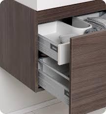 modern bathroom vanities and cabinets. Fresca Nano Gray Oak Modern Bathroom Vanity W/ Medicine Cabinet Vanities And Cabinets R