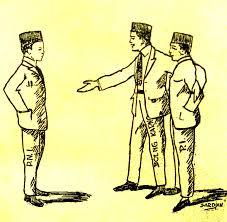 Image result for karikatur konflik