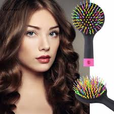 Hair Style With Volume aliexpress buy korean rainbow magic hair b brush rainbow 8286 by wearticles.com