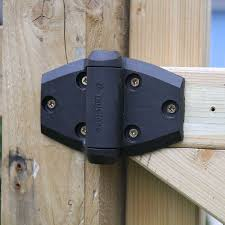 2 x truclose self closing safety gate hinge for wooden garden gates thumbnail 2