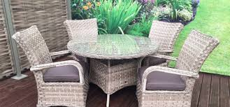 caramel rattan garden furniture