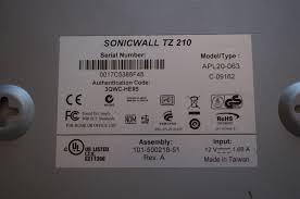 Home Network Security Appliance Sonicwall Tz210 Network Security Appliance Firewall Model Apl20