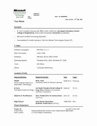 Mechanical Resume Samples For Freshers 24 Inspirational Image Of Sample Resume Format For Mechanical 22