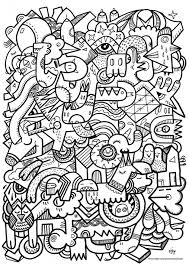 Small Picture Coloring Pages Patterns Difficult Colouring Pages Dessin
