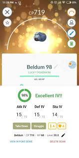 100 Lucky Beldum Pokemon Go Wiki Gamepress