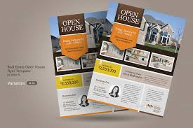 open house flyers template open house flyers template business