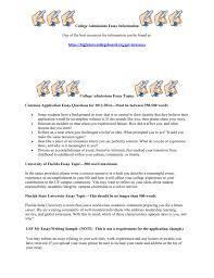 essay topics for college applications sample college application essay 1