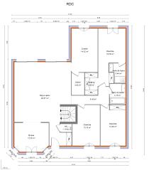 Plan De Maison Plain Pied 120m2 Great Plan De Maison Plein Pied