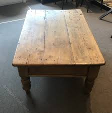 antique pine coffee table antiques atlas