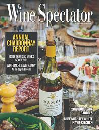 Wine Spectator Vintage Chart 2018 California Chardonnay Wine Spectator