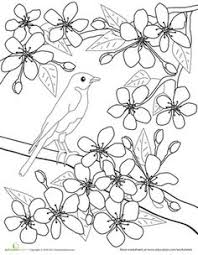 Small Picture Trees coloring page to print and color Preschool Tree and Leaf