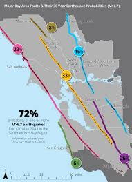 Seismic hazards maps and reports for the san francisco bay area. Bay Area 30 Year Earthquake Risk Projection Spatial Analysis Mapping Projects
