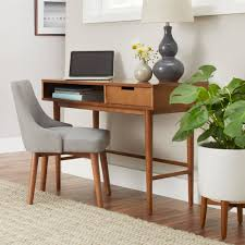 Mid century modern furniture Metal Better Homes Gardens Flynn Mid Century Modern Desk Pecan Walmartcom Apartment Therapy Better Homes Gardens Flynn Mid Century Modern Desk Pecan