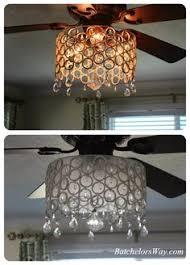 batchelors way diy ceiling fan chandelier create a chandelier56