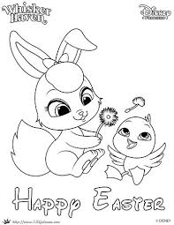 Free Printable Whisker Haven Easter Coloring Page Skgaleana