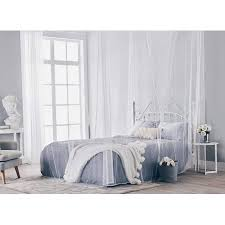MOSQUITO NET for Double Bed, Four Corner Post Elegant Bed Canopy Curtains, Full/Queen/King
