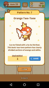 All Magikarp Patterns Mesmerizing Magikarp Patterns In Magikarp Jump