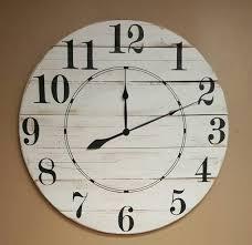 the diane farmhouse wall clock