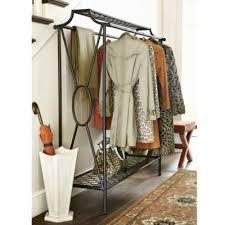 Double Coat Rack Niles Double Coat Rack By Ballard Is A Sturdy Elegant Option That 45