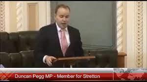 Duncan Pegg MP, Speech to Queensland ...