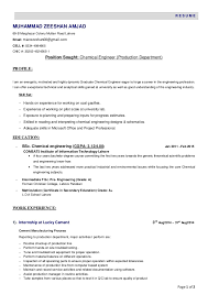 Chemical Engineer Resume Classy 48 Chemical Engineer Resume Tattica
