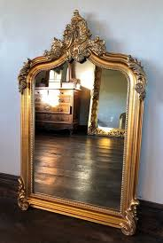 the annecy mirror antique gold 4ft