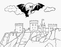 Small Picture Castle Halloween Coloring Pages Halloween Wizard