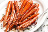 balsamic vinegar   honey marinated carrots