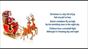 Christmas For Kids Christmas Is A Day Full Of Joy Poem Christmas Poem For Kids