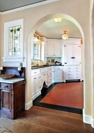 Modern Kitchen In Old House Classic White Kitchen For A 1920s Tudor Old House Restoration