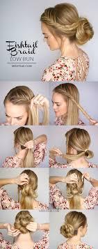 easy bun hairstyles for easy bun hairstyles 2017 hairstyles and haircut ideas