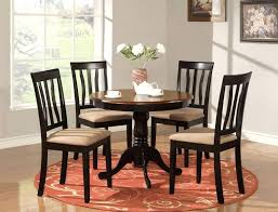 Round Kitchen Table Kitchen 42 Inch Round Kitchen Table With Dual Drop Leaves