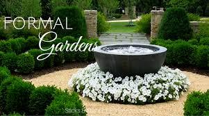 Small Picture Formal Garden Design