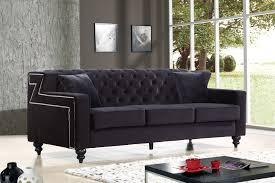 blacks furniture. Meridian Furniture Harley Black Sofa Click To Enlarge Blacks A